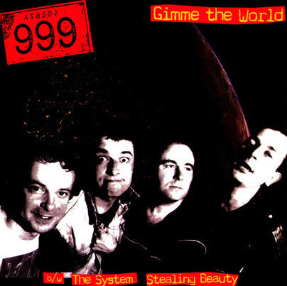 "999 - 'Gimme The World' 7"" - Dr Strange - Dead Beat Records"