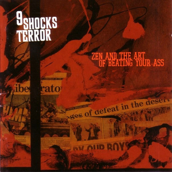 9 Shocks Terror - Zen and the Art of Beating Your Ass CD - Havoc - Dead Beat Records