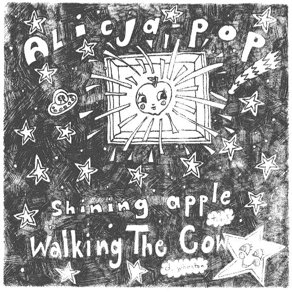 "Alicja Pop- Shining Apple 7"" ~EX LOST SOUNDS / RARE FIRST PRESS 400 NUMBERED!"