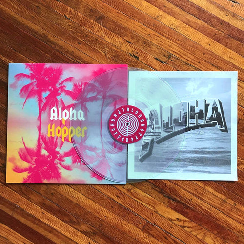 Alpha Hopper- S/T LP ~UNWOUND, HUGGY BEAR / RARE CLEAR WAX!