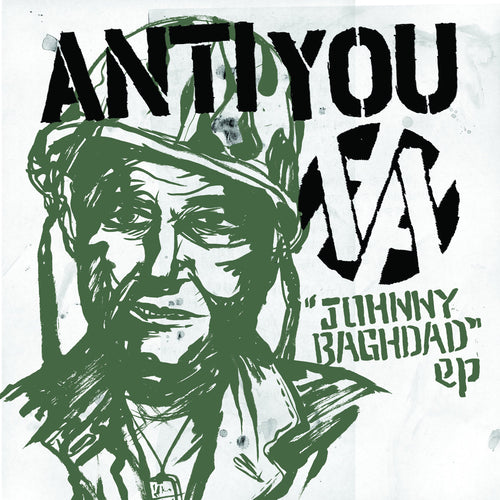 "Anti You- Johnny Baghdad 7"" ~POISON IDEA!"