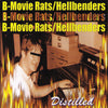 B-Movie Rats / Hellbenders- 'Distilled' Split CD ~CANDY SNATCHERS!