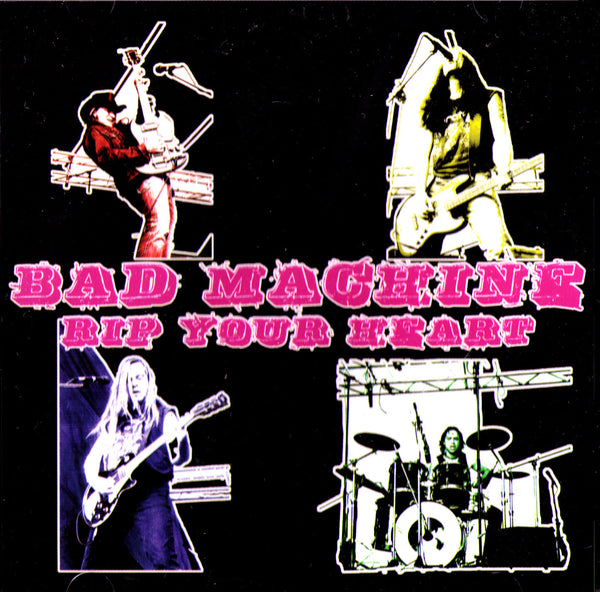 BAD MACHINE- 'Rip Your Heart' LP - Dead Beat - Dead Beat Records