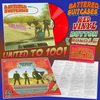 Battered Suitcases- Oblivion LP ~RED VINYL + BUTTON BUNDLE LTD TO 100!