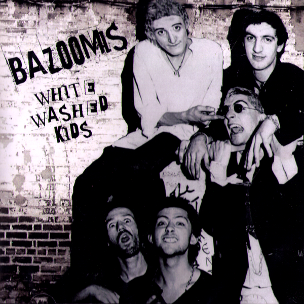 Bazoomis- White Washed Kids CD ~REISSUE!