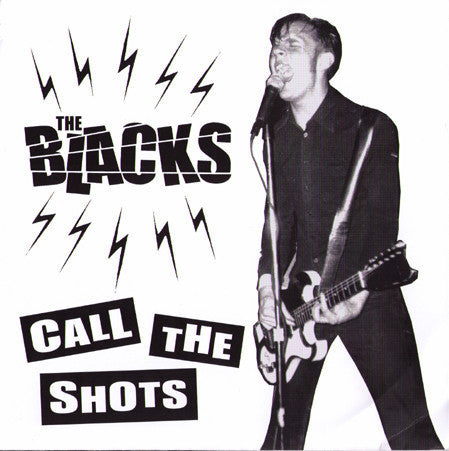 "THE BLACKS- 'Call The Shots' 7"" - Big Neck - Dead Beat Records"