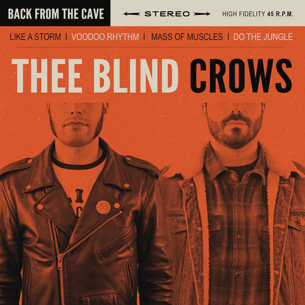 "Blind Crows- Back From The Cave 7"" ~GHOST HIGHWAY RECORDINGS!"