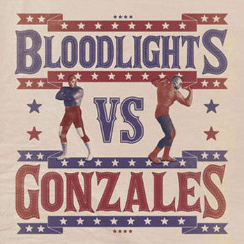 "BLOODLIGHTS/GONZALES- Split 7"" ~EX GLUECIFER! - KORNALCIELO - Dead Beat Records"
