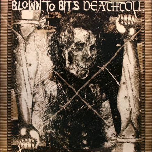 Blown To Bits/Deathtoll- Split LP ~RARE RED WAX! - Despotic - Dead Beat Records