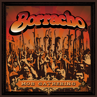 "Borracho- Mob Gathering 7"" ~150 PRESSED/#'D! - Ghost Highway - Dead Beat Records"