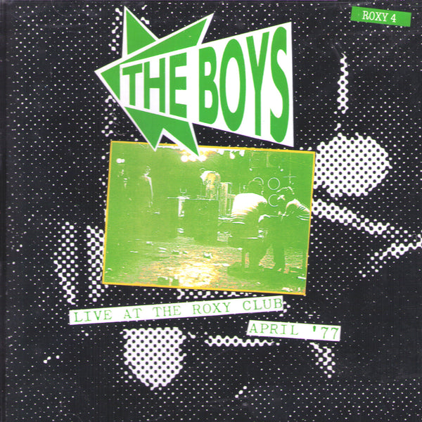 The Boys- Live At The Roxy Club April '77 CD