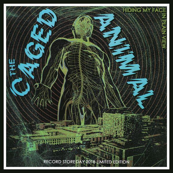 Caged Animal- Hiding My Face In Plain View LP ~RAREST COVER LTD TO 20 NUMBERED COPIES!