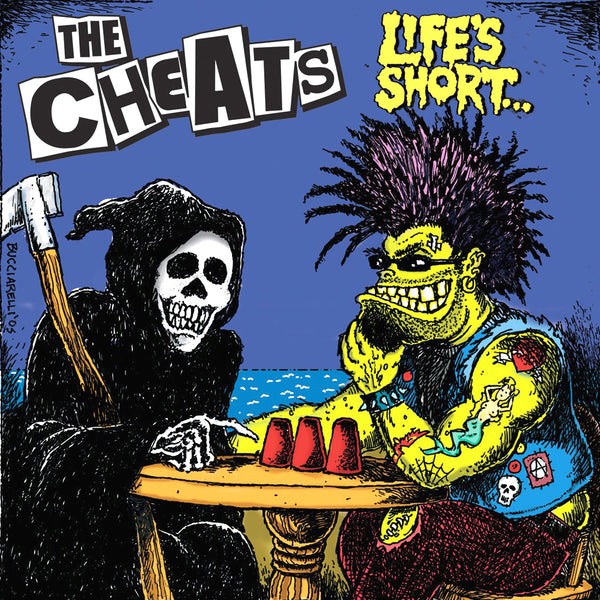 The Cheats- Life's Short CD ~DEAD BOYS!