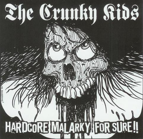 "Crunky Kids- Hardcore Malarky 7"" - Motorchest - Dead Beat Records"