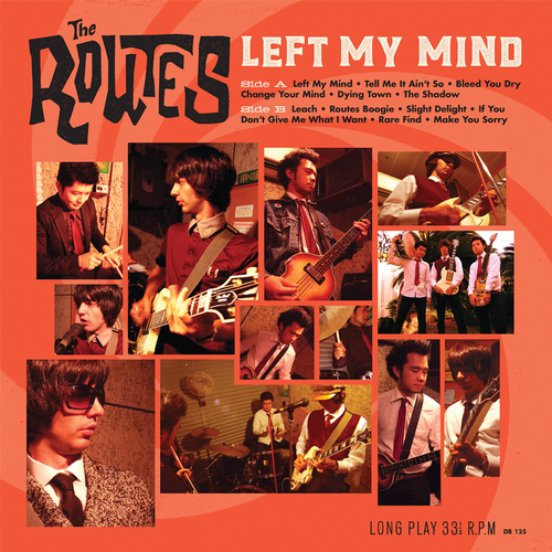 The Routes- Left My Mind LP ~REISSUE! - Dead Beat - Dead Beat Records - 1