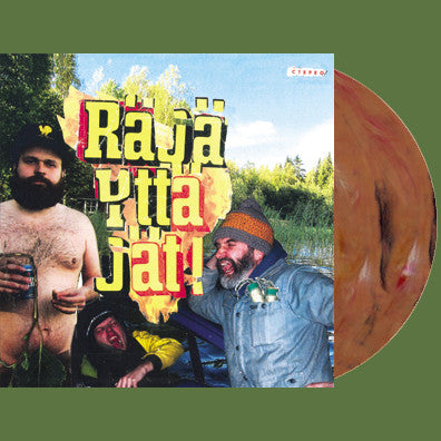 RÄJÄYTTÄJÄT- S/T LP ~BROWN MARBLE WAX LTD TO 100! - Dead Beat - Dead Beat Records
