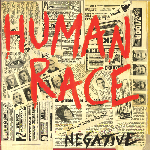 Human Race- Negative LP ~THE KIDS!