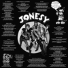 Jonesy- S/T LP ~FLAMETHROWER EDITION LIMITED TO 25!