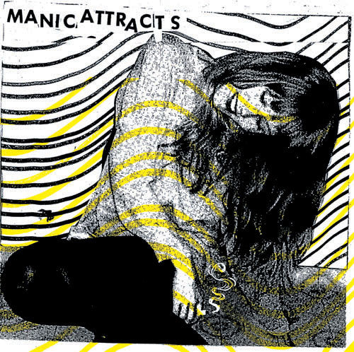 Manic Attracts- Eyes Wide Shut LP ~  EX DEAD GHOSTS - Dead Beat - Dead Beat Records