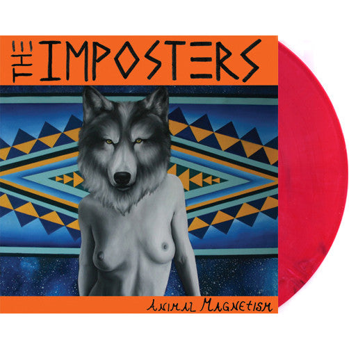 THE IMPOSTERS - 'Animal Magnetism' LP ~RARE RED WAX!!! - Dead Beat - Dead Beat Records