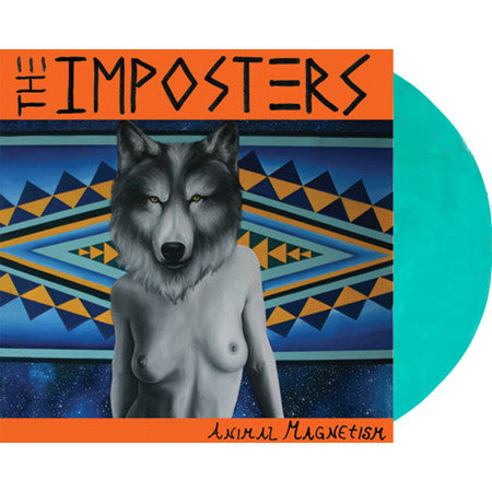 THE IMPOSTERS - 'Animal Magnetism' LP ~RARE GREEN WAX!!! - Dead Beat - Dead Beat Records