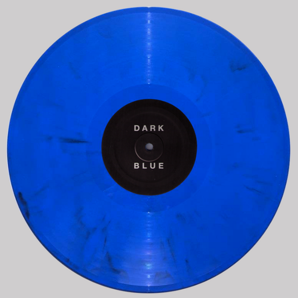 Dark Blue- Red White And Dark Blue LP ~OPAQUE BLUE WAX LTD TO 100! - Adagio 830 - Dead Beat Records - 1