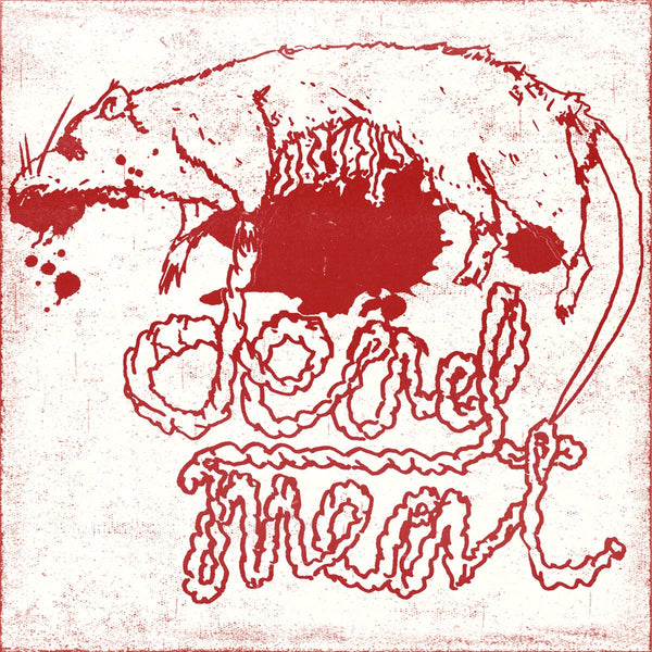 "Dead Meat- S/T 7"" ~RARE RED ALTERNATE COVER / EX SUICIDE GENERATION!"