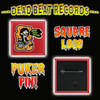 Dead Beat Records Square Puker Pin