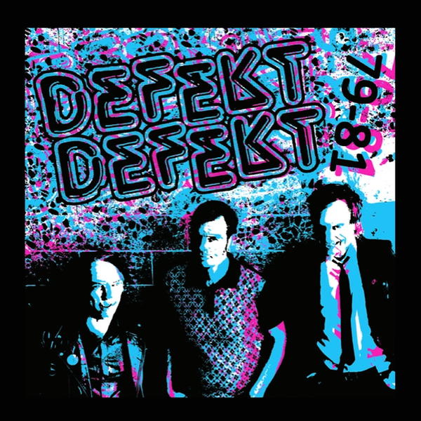 Defekt Defekt- '79 - '81 LP ~RARE BLUE AND RED ALT COVER LTD 50!