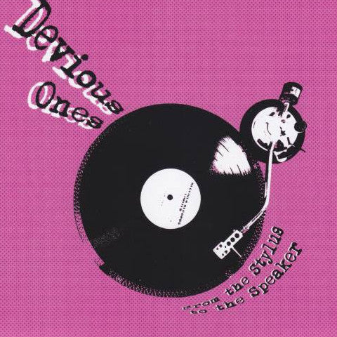 "Devious Ones- From The Stylus To The Speaker 7"" ~DICTATORS! - Rust On The Blade - Dead Beat Records"