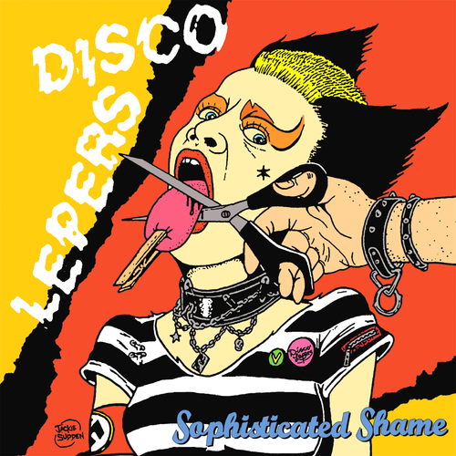 Disco Lepers- Sophisticated Shame LP ~EX GAGGERS!