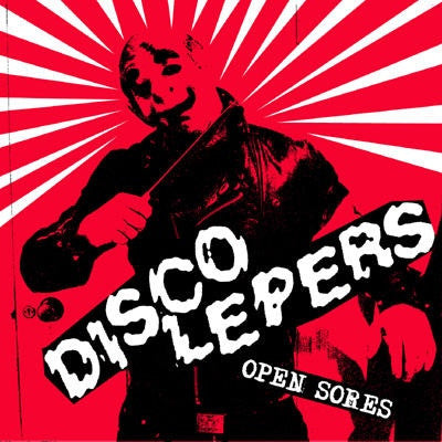 "Disco Lepers- Open Sores 7"" ~RARE ALT COVER! - NO FRONT TEETH - Dead Beat Records"
