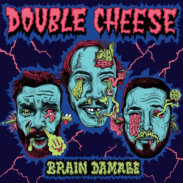 Double Cheese- Brain Damage LP ~BLACK LIPS!
