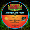Electric Frankenstein- Razor Blade Touch LP ~HIGH VOLTAGE ELECTRIC FRANKENFLAME COLORED WAX W/ EF DRINK COASTER LTD TO 100!