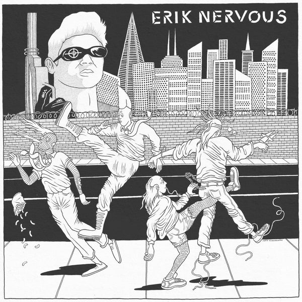 "Erik Nervous / Neo Neos- Split 7"" ~RARE 150 HAND NUMBERED COPIES!"