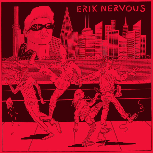 "Eric Nervous / Neo Neos- Split 7"" ~LUMPY / RARE 150 HAND NUMBERED!"