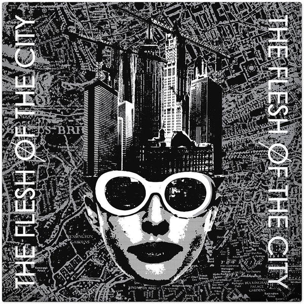 Flesh Of The City- S/T LP ~RARE ALT COVER LTD TO 30! / EX GAGGERS!