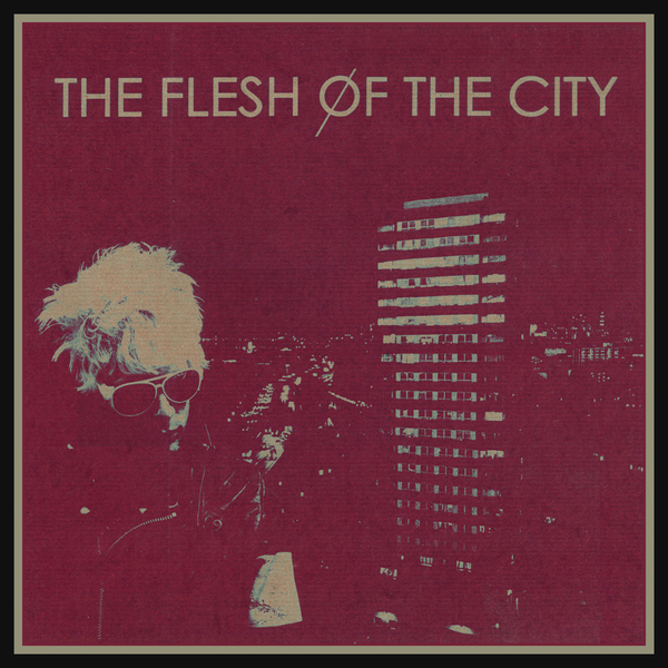 Flesh Of The City- S/T LP ~RARE MAGENTA ALTERNATE COVER LTD TO 30!