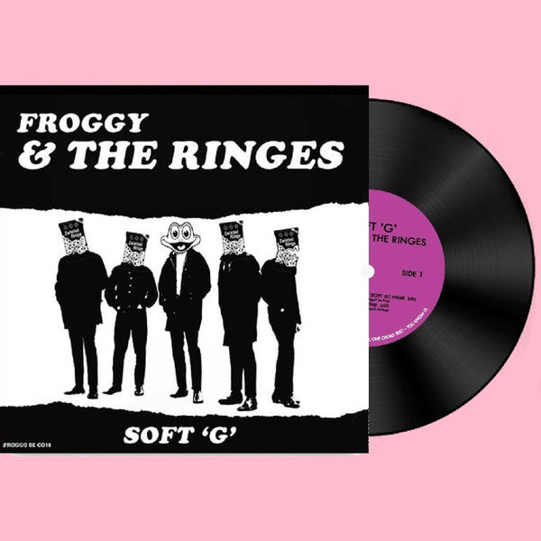 "Froggy & The Ringes- Soft G 7"" ~ARMITAGE SHANKS!"