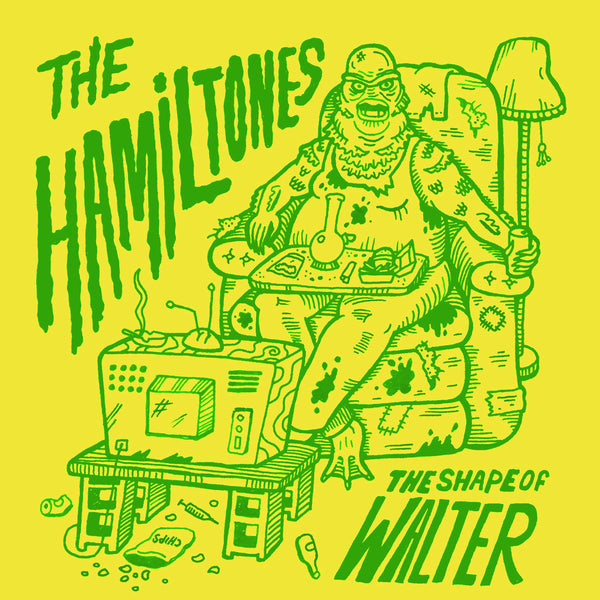 "Hamiltones- Shape Of Water 7"" ~PHANTOM SURFERS / RARE BLUE WAX!"