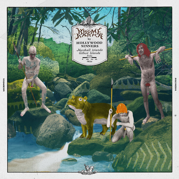 Hollywood Sinners- Khöme Kakka LP ~GREEN WAX / SONICS!