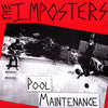 "Imposters- Pool Maintenace 7"" - FLAT BLACK - Dead Beat Records"