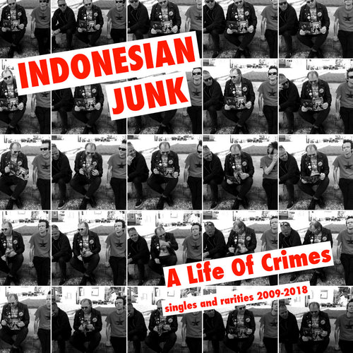 Indonesian Junk- A Life Of Crimes (Singles + Rarities 2009 - 2018) CD ~REISSUE!
