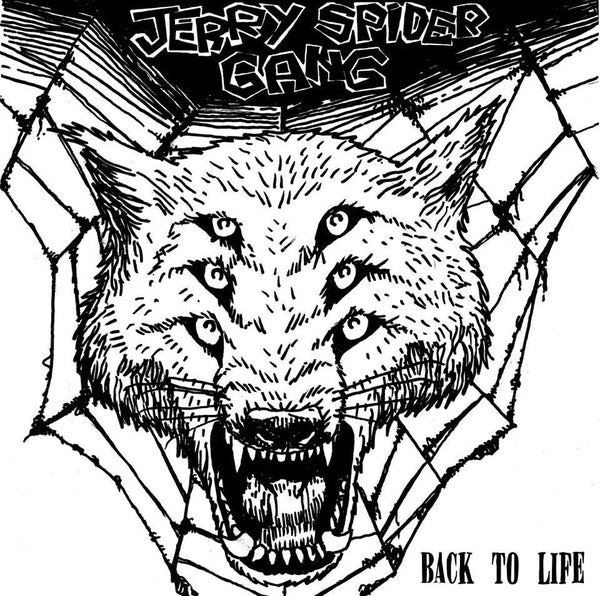 "JERRY SPIDER GANG- Back to Life 7"" ~300 PRESSED! - Frantic City - Dead Beat Records"