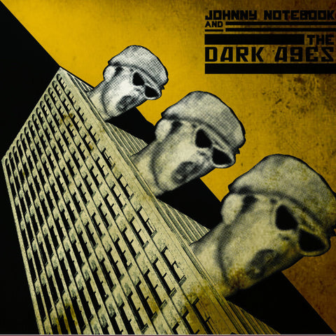 "Johnny Notebook & The Dark Ages- S/T 10"" ~RARE COVER LTD TO 200!"