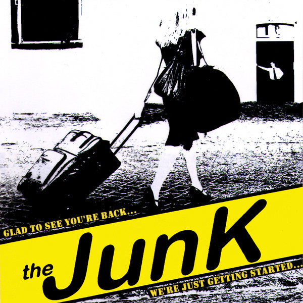 "The Junk- Glad To See You're Back 7"" ~EX SMUT PEDDLERS / RARE YELLOW WAX!"