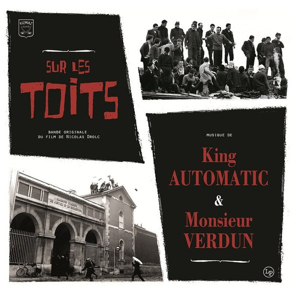 "King Automatic & Monsieur Verdun- Sur Les Toits 10"" - Kizmiaz - Dead Beat Records"