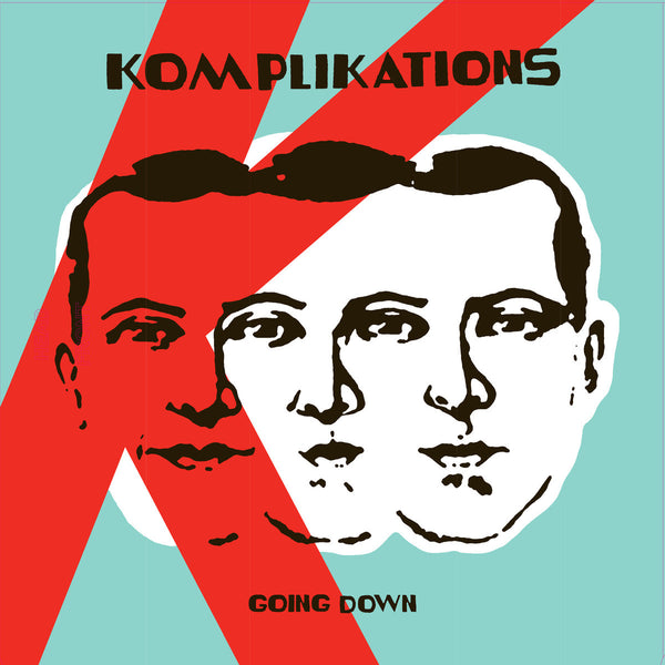 Komplikations- Going Down LP ~SCREAMERS! - Rock Star - Dead Beat Records