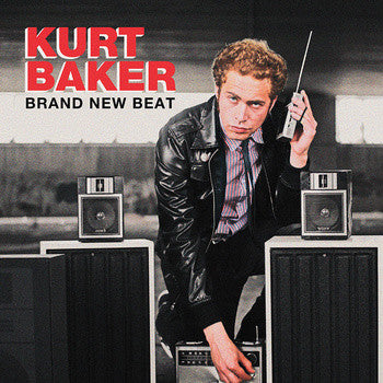 Kurt Baker- Brand New Beat LP ~EX SCREECHING WEASEL! - Jolly Ronnie - Dead Beat Records