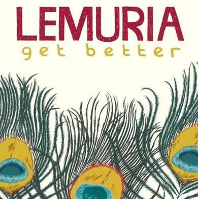 "LEMURIA- ""Get Better"" LP - Asian Man - Dead Beat Records"
